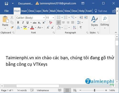 How to install and use vtkey to speak Vietnamese with vtkey 9