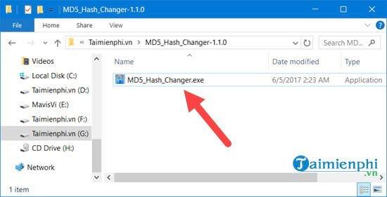 Cách sử dụng MD5 Hash Changer Tool để đổi MD5 của video, file 2