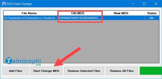 Cách sử dụng MD5 Hash Changer Tool để đổi MD5 của video, file 5