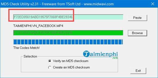 Cách sử dụng MD5 Hash Changer Tool để đổi MD5 của video, file 9