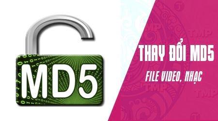 Cách sử dụng MD5 Hash Changer Tool để đổi MD5 của video, file