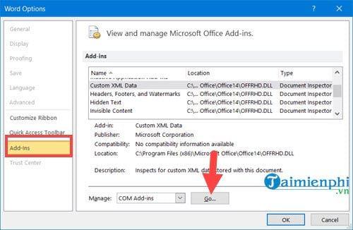 Sửa lỗi không copy, paste được trong Excel và Word 11