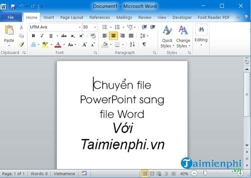 cach chuyen file powerpoint sang file word 9
