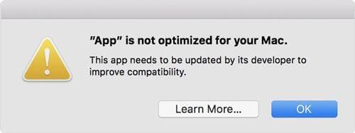 cach kiem tra ung dung tren macbook la 32bit hay 64bit