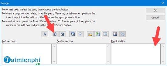 Hướng dẫn đánh số trang 1/2 trong Excel 16