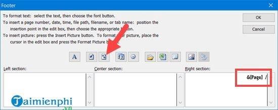 Hướng dẫn đánh số trang 1/2 trong Excel 17