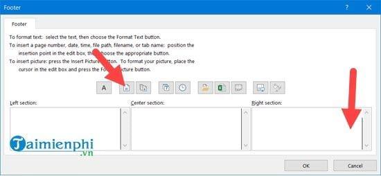 Hướng dẫn đánh số trang 1/2 trong Excel 3