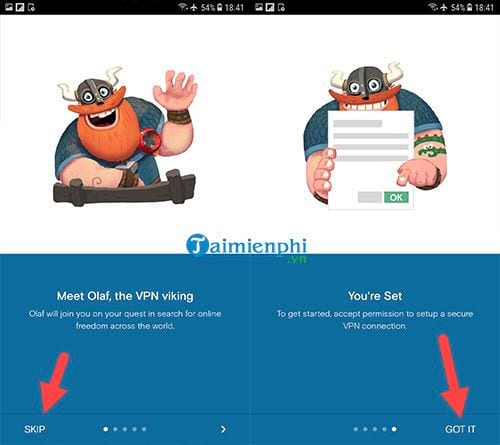 Cách Fake IP trên Android 2