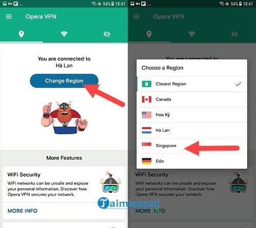 Cách Fake IP trên Android 4