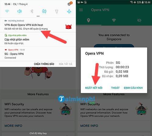 Cách Fake IP trên Android 6