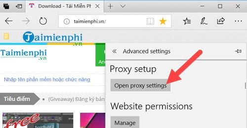 Cách Fake IP Việt Nam, Fake địa chỉ IP vào internet trên máy