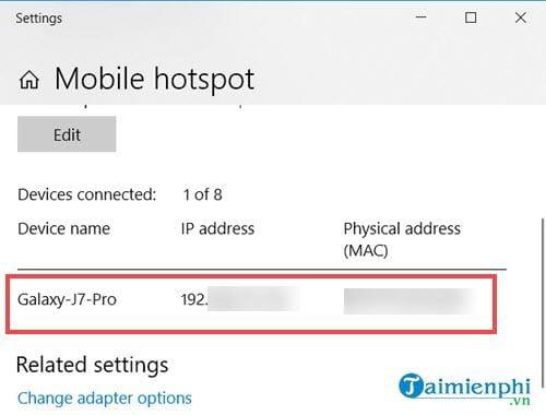 Cách phát wifi từ laptop 4
