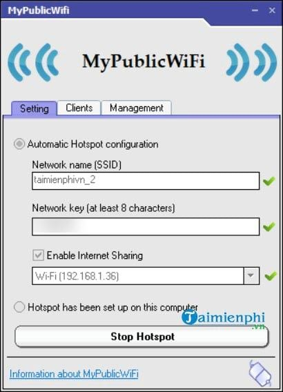 Cách phát wifi từ laptop 6