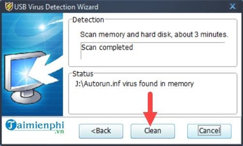 How to remove virus in USB 13