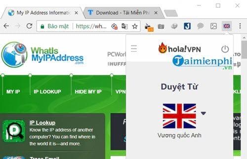 Cách Fake IP USA, UK 10