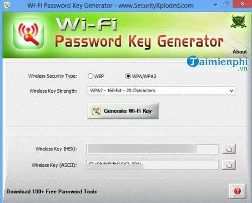 Phần mềm bẻ khóa wifi trên laptop, công cụ câu trộm wifi
