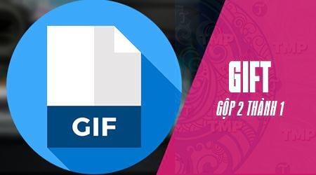Cách ghép 2 ảnh GIF thành 1
