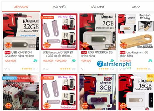Cách mua hàng Shopee trên máy tính 3