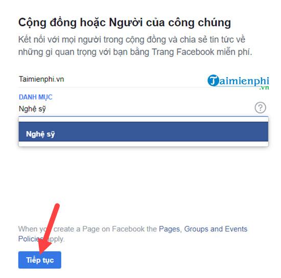 I am facebook fanpage on my phone