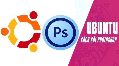 cai dat photoshop tren ubuntu linux