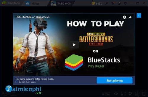 So sánh chơi PUBG Mobile trên phần mềm giả lập android Bluestacks và T