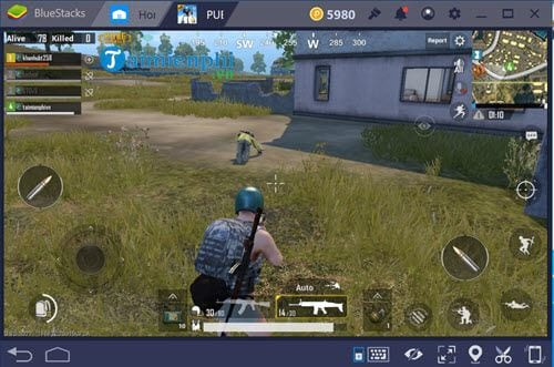 Cách chơi PUBG Mobile trên Macbook 11