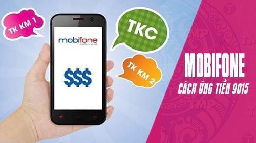 Cách ứng tiền Mobi 9015