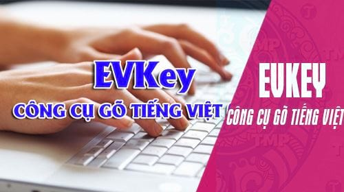How to use evkey to speak Vietnamese on a computer