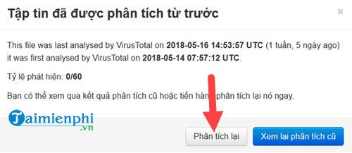 Cách quét virus trực tuyến không cần dùng phần mềm 5