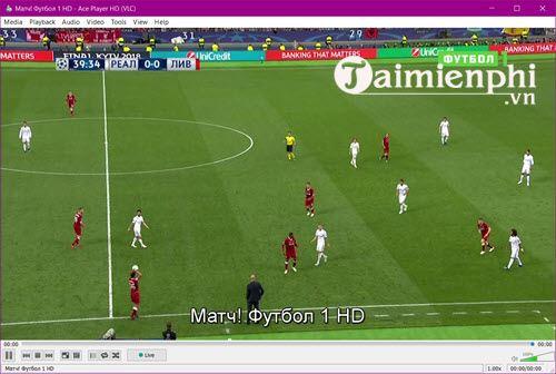 Cách sử dụng Ace stream xem bóng đá trực tiếp 11
