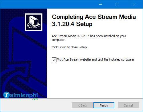 Cách sử dụng Ace stream xem bóng đá trực tiếp 4