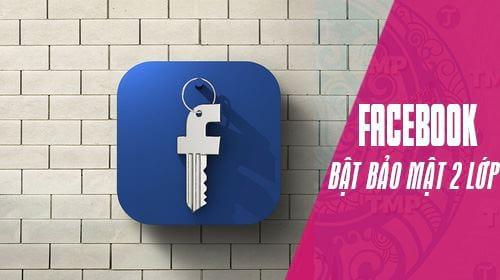 cach xac thuc 2 yeu to facebook khong can dung so dien thoai