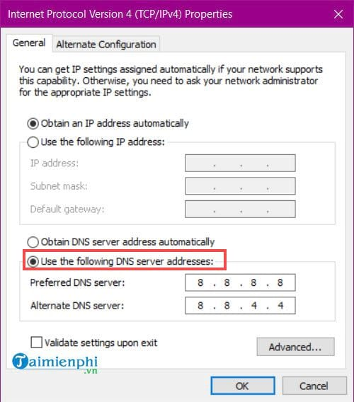 How to use DNS to make web browsing faster 7