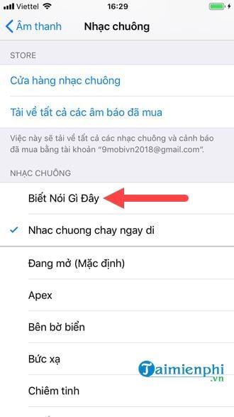 Cách cài nhạc chuông cho iPhone bằng iTunes 13