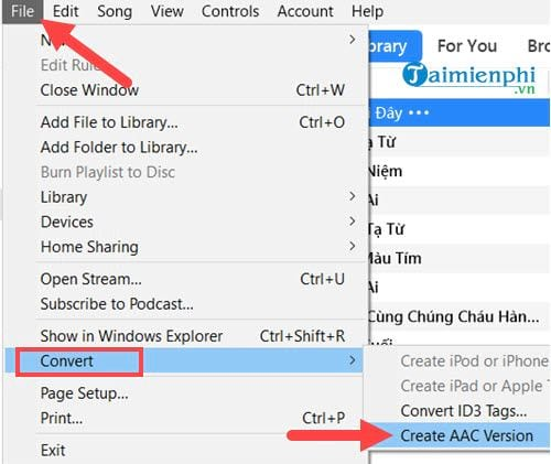 Cách cài nhạc chuông cho iPhone bằng iTunes 5