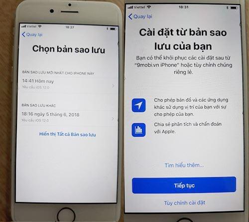 Cách Restore iPhone bằng iTunes, khôi phục iPhone trên máy tính
