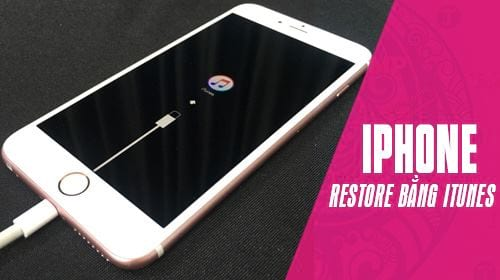 huong dan cach restore iphone bang itunes