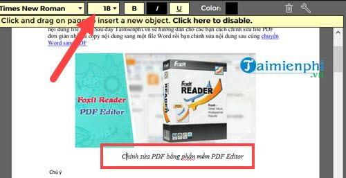Cách chỉnh sửa file PDF trực tiếp giống như file Word 8