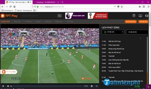 How to watch continuously vtv6 vtv6 hd on computer 9