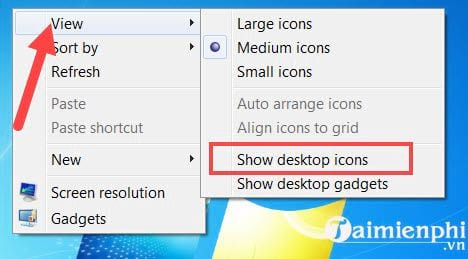 Cách đưa icon This PC, Computer ra màn hình Desktop Windows 7,10 6
