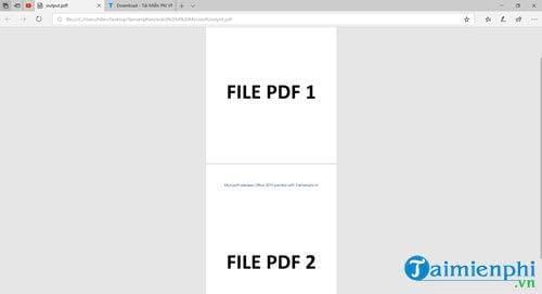 cach noi file pdf tu nhieu file thanh 1 file 15