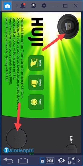 Cách tải và sử dụng Huji Cam trên PC
