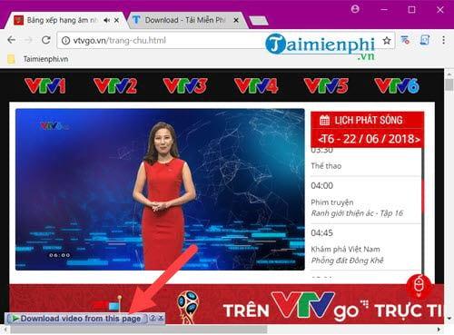 Cách tải video trên VTV Go về máy tính 3