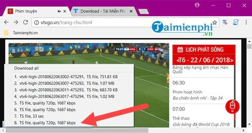 Cách tải video trên VTV Go về máy tính 4