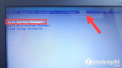 Cách chỉnh BIOS laptop HP để BOOT từ USB trên máy tính