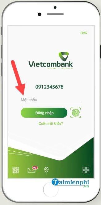cach dang nhap vietcombank internet banking