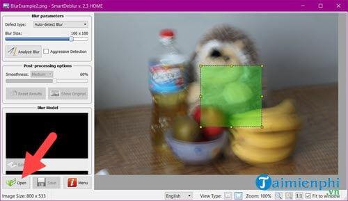 Phần mềm xử lý ảnh mờ, làm ảnh nét hơn