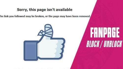 cach chan bo chan mot tai khoan khoi fanpage facebook