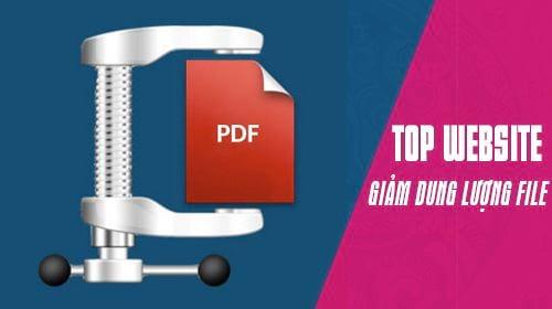 top website giam dung luong file pdf truc tuyen tot nhat