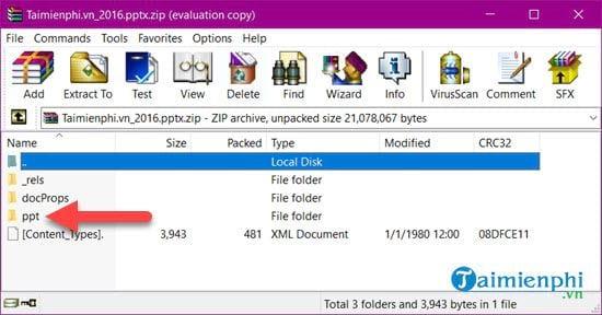 Cách lấy ảnh trong file Excel và PowerPoint về máy tính 10